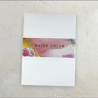 Giấy vẽ màu nước A4L- vân nhẹ lên màu siêu đẹp (10 tờ/ túi)