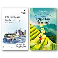 Combo Sách: Cẩm Nang Du Học Australia - Một Góc Thế Giới Bốn Bề Đại Dương + Đường Ngược Chiều - Tư Bản Người Dao Đến Học Bổng Erasmus