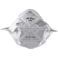 Hộp 50 cái khẩu trang dạng gấp Vflex chống virus, chống bụi, mùi hôi và kháng khuẩn N95 3M 9105 - bảo vệ hô hấp, dễ thở