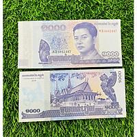 Tiền Cambodia 1000 Riels cảnh chùa tháp, sưu tầm tiền Campuchia, mới 100% UNC, tặng túi nilon bảo quản
