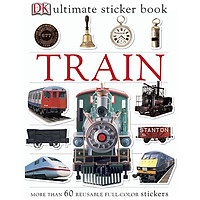 Ultimate Sticker Book Train
