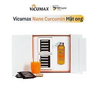 Vicumax Mật Ong Nano Curcumin dạng lỏng (60 tuýp) 510 ml - Hỗ trợ dạ dày, tăng cường sức khỏe, đẹp da - VI0TL060