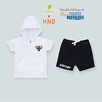 LULLABY x HNB - NHB05 - Bộ quần áo cộc tay có mũ