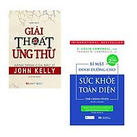 Sách Combo 2 cuốn Bí mật dinh dưỡng cho sức khỏe toàn diện + giải thoát ung thư - Hành trình của bác sĩ John Kelly