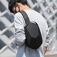 Mark Ryden New Style Chest Pack Black Man Waterproof Fashion Leisure Single Shoulder Chest Pack