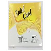 Espp GiẤy Note 5'X8' Ruling Card 5'X8'