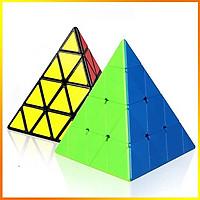 Rubik tam giác 4x4 cao cấp - Tặng kèm chân đế