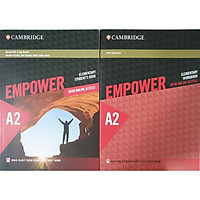 Combo 2 cuốn: Empower A2 Elementary Student's Book with Online Access + Empower A2 Elementary Workbook with Online Access