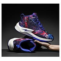 Giày bóng rổ cổ cao siêu phản diện - Giày sneaker bóng rổ cực đẹp
