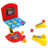 Desktop Interactive Game Mini Basketball Shooting Toys Set Colorful Marbles Game For Children
