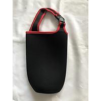 Túi xách cho ly giữ nhiệt màu đen viền đỏ
