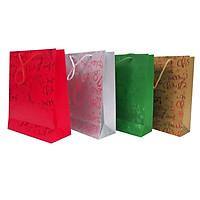 Túi quà giấy in họa tiết hình chai 4 loại Uncle Bills XB1032 (Giao ngẫu nhiên)