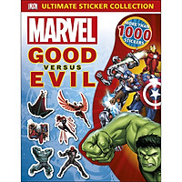Marvel Good Versus Evil Ultimate Sticker Collection (More Than 1,000 Stickers)
