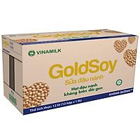 Thùng 12 Hộp Sữa Đậu Nành Không Đường Goldsoy (1L)