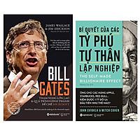 Combo Sách Doanh Nhân : Bill Gates - Tham Vọng Lớn Lao Và Quá Trình Hình Thành Đế Chế Microsoft + Bí Quyết Của Các Tỷ Phú Tự Thân Lập Nghiệp