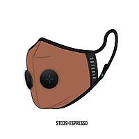Khẩu trang thời trang cao cấp Soteria Espresso ST039 - Khẩu trang vải hoạt tính [size M,L] Van đen