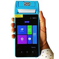 Máy tính tiền cầm tay in hóa đơn dùng để bán hàng tại shop, quán, kiot... hiệu TOPCASH POS QT-H10 có sẵn phần mềm bán hàng vĩnh viễn - Hàng nhập khẩu