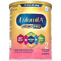 Sữa bột Enfamil A+ NeuroPro 2 với 2'-FL HMO cho trẻ từ 6 –12  tháng tuổi– 400g