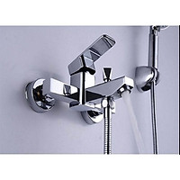 Củ sen nóng lạnh inox 304, Bộ củ 2 chế độ gắn phòng tắm