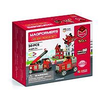 Đồ chơi xếp hình nam châm 3D Magformers - Cứu hỏa siêu đẳng 50 mảnh