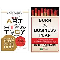 Combo 2 Cuốn: Nghệ Thuật Tư Duy Chiến Lược + Câu Chuyện Khỏi Nghiệp Của Những Gã Khổng Lồ Công Nghệ