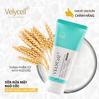 Sữa rửa mặt ngũ cốc làm sạch da Grain deep cleansing foam Velycell 120ml