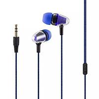 Tai nghe nhét tai thiết kế chống ồn , dây dù chống đứt cao cấp, nút cao su chóng đau tai khi sử dụng, nhỏ gọn tiện lợi Jack thông dụng 3.5mm - HÀNG CHÍNH HÃNG