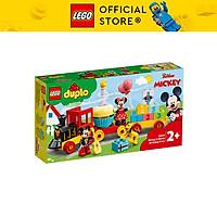 Đồ chơi LEGO DUPLO Disney Đoàn Tàu Sinh Nhật Của Mickey & Minnie 10941