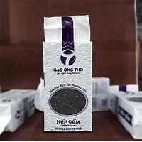 Gạo Nếp Cẩm - Gạo Ông Thọ Túi 1Kg - Thơm ngọt mềm dẻo, tốt cho sức khỏe