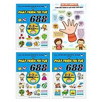 Combo 3 Cuốn 688 Câu Đố Phát Triển Trí Tuệ 2-3 Tuổi (Bộ 3Q) + Poster An Toàn Cho Con Yêu - (Sách Thiếu Nhi Phát Triển Tư Duy / Kỹ Năng Logic Cho Bé)