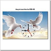 Đồng hồ tranh để bàn PGB-40