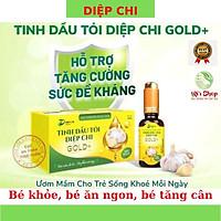 TINH DẦU TỎI DIỆP CHI GOLD+ 30ml (MẪU MỚI) - HỖ TRỢ TĂNG SỨC ĐỀ KHÁNG, GIẢM CÁC TRIỆU CHỨNG CẢM DO NHIỄM LẠNH