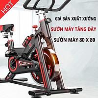Xe đạp tập thể dục Gh-709 (Cảm biến nhịp tim) - kèm ảnh, video thật