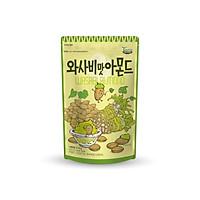 Hạnh nhân tẩm wasabi Tom' Farm 210g Hàn Quốc