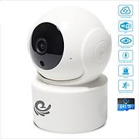 Camera Ip Xoay 360 Độ Model CC2021 PRO Độ Phân Giải 2.0Mpx - Xoay Theo Chuyển Động, Hú Báo Động, Đàm Thoại 2 Chiều, Cài Đặt Dễ Dàng Trên Điện Thoại, Máy Tính - Hàng Chính Hãng