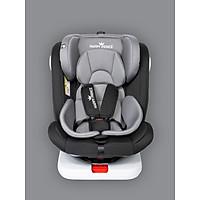 Ghế ô tô 2 chiều, điều chỉnh 4 tư thế từ nằm tới ngồi, ngã lưng 165 độ và có thể điều chỉnh độ cao 7 cấp cho bé từ 0-12 tuổi (đen)