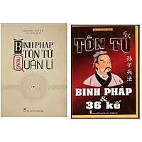 Combo Sách kinh tế hay nhất Binh Pháp Tôn Tử Trong Quản Lí+Tôn Tử Binh Pháp Và 36 Kế