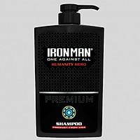 Dầu gội nhiệt hương nước hoa Ironman Humanity 650g