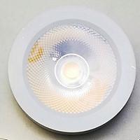Đèn LED Ốp Nổi mini siêu mỏng 5W, Đèn Trang Trí Tủ Rượu, Tủ Bếp, Tủ Quần Áo (vỏ trắng- ánh sáng trắng)