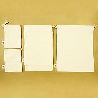 Combo 6 Túi Vải Đựng Thực Phẩm 100% Cotton A Little Bit