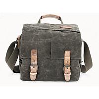 Túi máy ảnh vải bố kết hợp da imax-SB462L