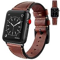Dây da đeo thay thế cho Apple watch 1,2,3,4,5
