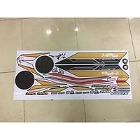 Tem dành cho xe Winner X HP4 Rời Đen Đồng in mực cao cấp