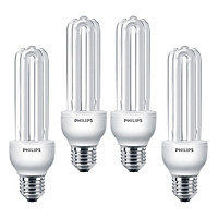 Combo Bóng đèn Compact 3U tiết kiệm điện Philips Essential 23W 6500K E27  - Ánh sáng trắng