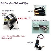 combo chế xe điện 24v 350w