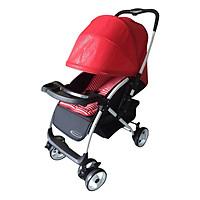 Xe Đẩy Trẻ Em Hai Chiều Gluck Baby C58- Đỏ