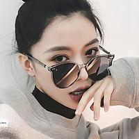 Men Women Retro Round Frame Sunglasses Fashion UV400 Sunglasses