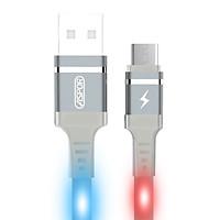 Cáp sạc USB-Type C 2.4A Aspor đèn LED chớp theo âm thanh A183 - Hàng chính hãng