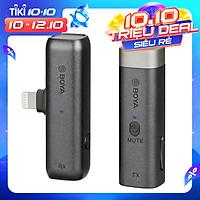 Micro Không Dây Boya BY-WM3D Cho Các Thiết Bị IOS Smartphone, Cameras - Chính Hãng