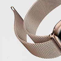 Dây đeo cho Apple Watch Thép chống rỉ ( Milanese Loop)  -  HÀNG CHÍNH HÃNG - Đủ Size - Đủ mầu